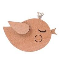 Creative Bird Model Wooden Music Box Exquisite Decoration Caixa De Musica Personalized Unique Christmas Gift boite a musique