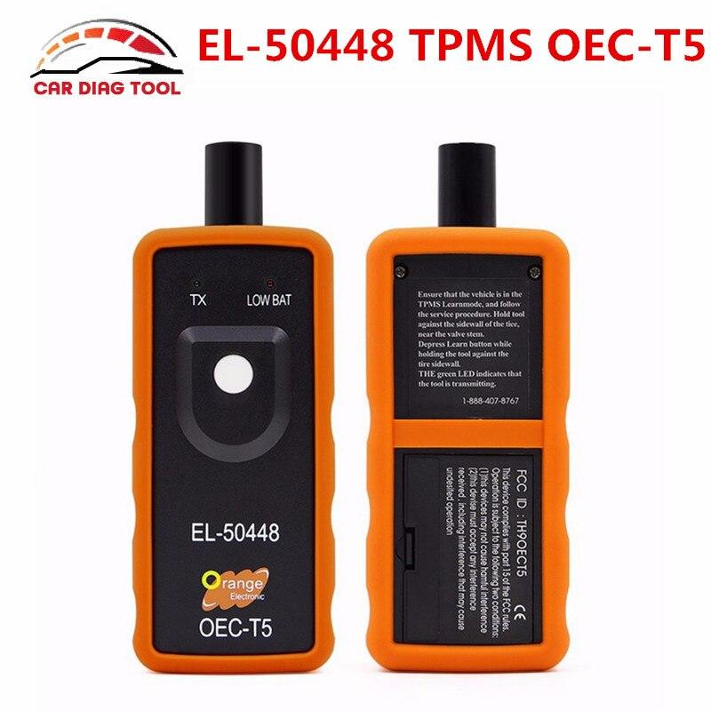 Prix pour 2017 Date EL-50448 TPMS EL 50448 Auto Pression des Pneus Moniteur Capteur EL50448 OEC-T5 Automobile TPMS Activation Outil Pour SPX G. M