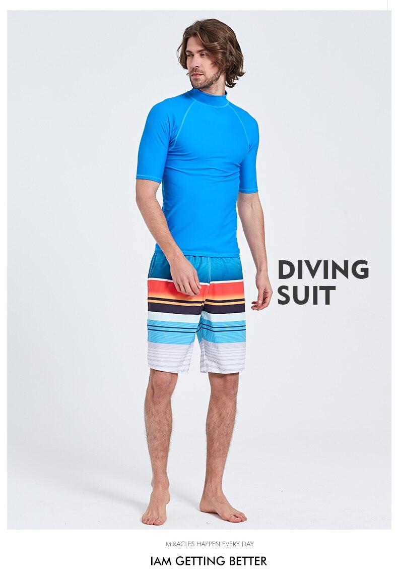 Camisas de Proteção Solar Swimwear Top