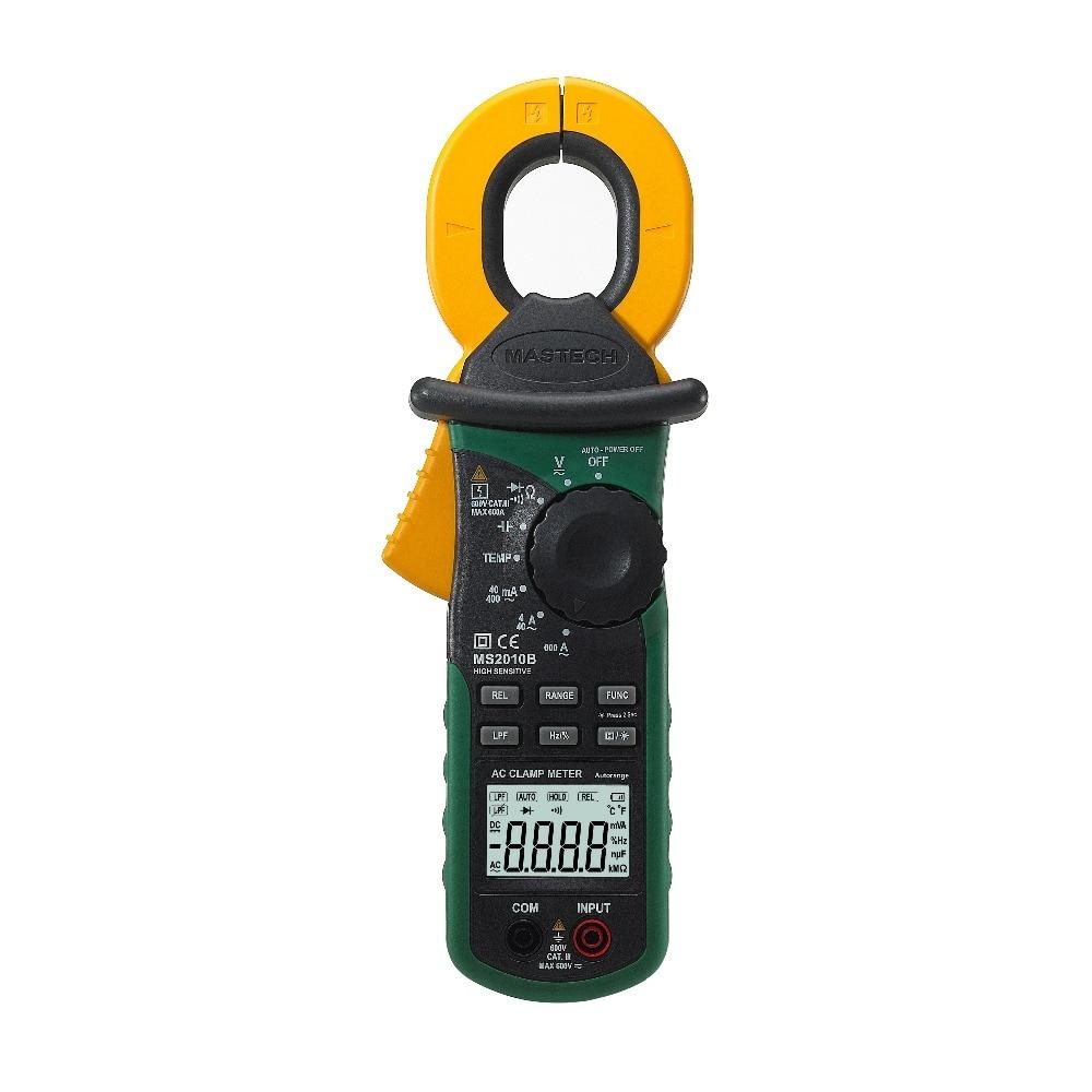 MASTECH MS2010B Multifunction High Sensitivity Leakage Current Clamp Meter Tester