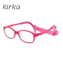 Kirka kids eyewear frames children optical glasses frame flexible spectacle eyeglasses