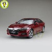 1/18 Honda Accord 10th седан литья под давлением Металл Модель автомобиля игрушки для мальчиков и девочек подарок на день рождения коллекция хобби кр