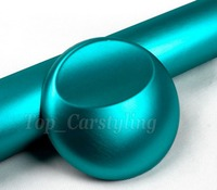 Best Quality Tiffany Brushed Chrome Vinyl Car Wrap With Air Release 1 Pcs Squeegee Tools PROTWRAPS