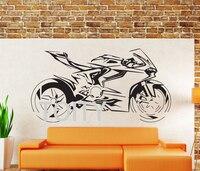 DUCATI PANIGALE Motosiklet Duvar Sticker Ev Dekor Aksesuarları Vinil Duvar Kendinden Yapışkanlı Motosiklet Duvar Çıkartması Boys Için