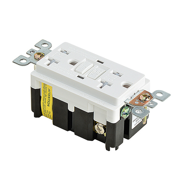 American Standard gfci 20A GFCI Electrical Outlet Receptacle 20 Amp ...