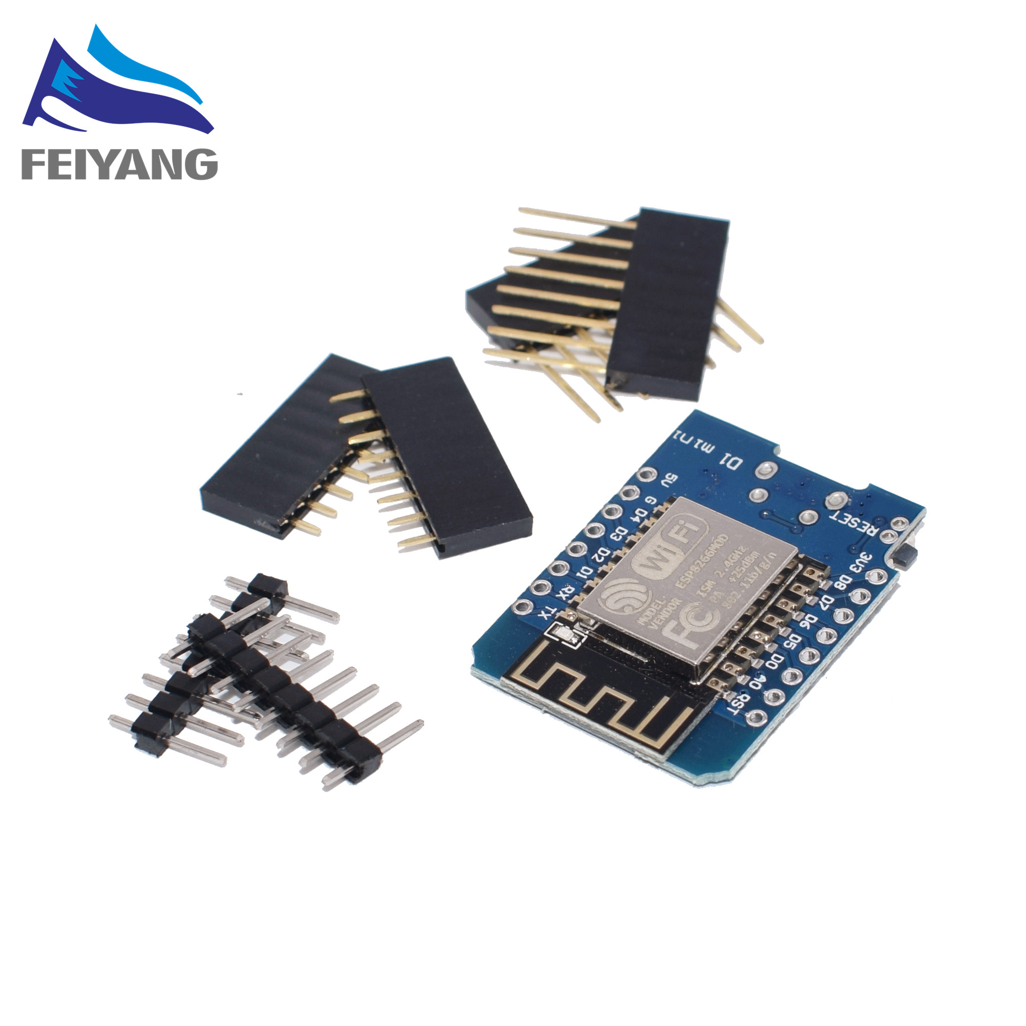 10pcs D1 PRO/Battery Shield/ D1 Mini - Mini NodeMcu 4M Bytes Lua WIFI Internet Of Things Development Board Based ESP8266 WeMos