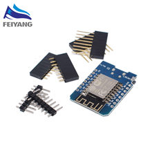 10pcs D1 PRO/Battery Shield/ D1 mini - Mini NodeMcu 4M bytes Lua WIFI Internet of Things development board based ESP8266 WeMos(China)