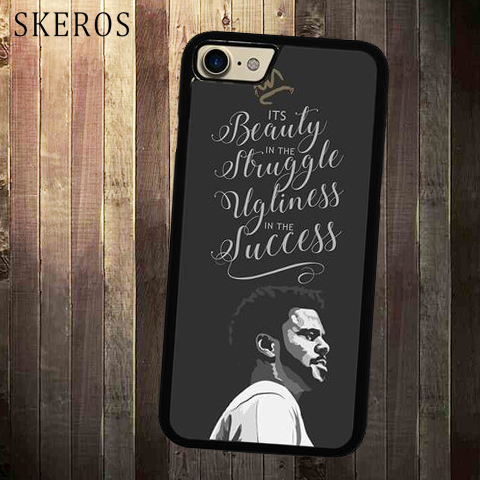 Skeros J Cole Love Yourz Quotes Lyrics Cover Cell Phone Case For