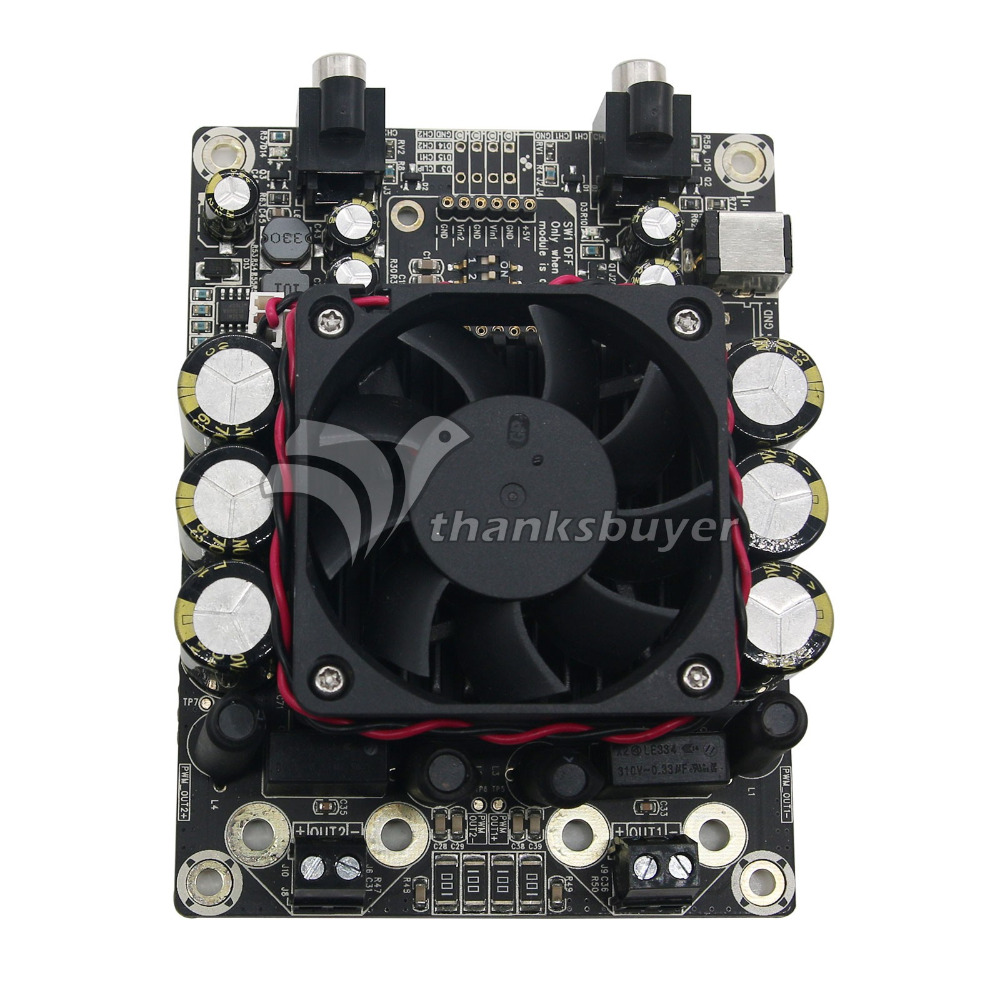 2 X 100 Watt 4 Ohm Class D Audio Amplifier Board Sta508 100w Stereo 2x50w Power Circuit Ebay T Amp In From Consumer Electronics On Alibaba Group