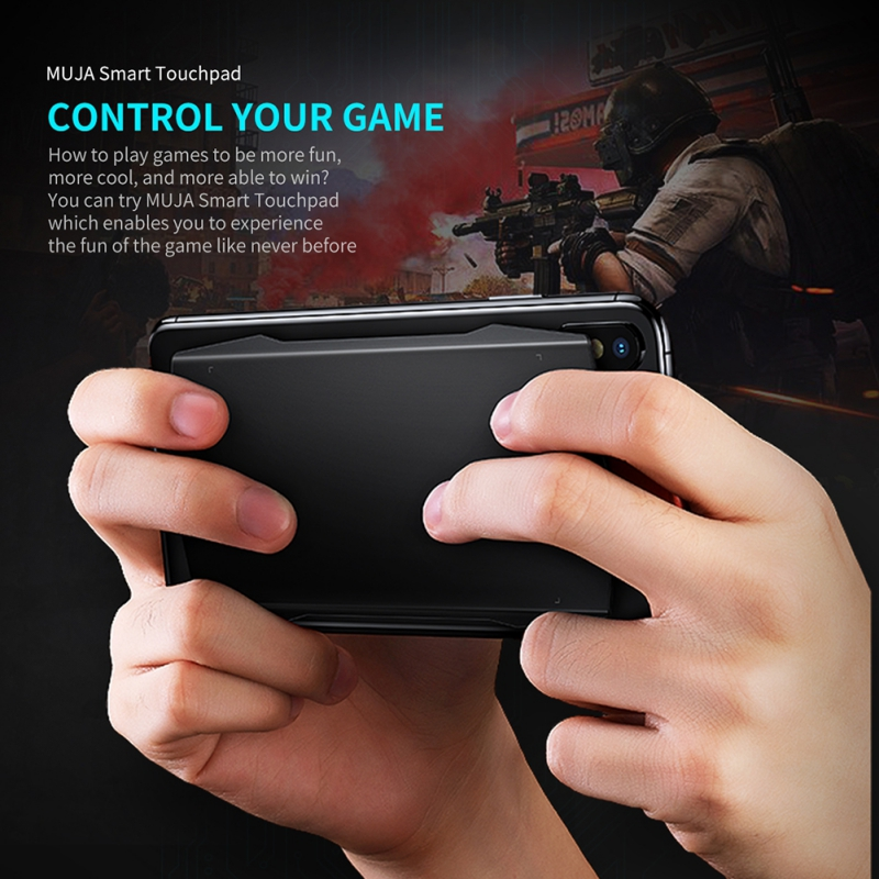 RC Smart Life Control Phone Back Game Screen Touchpads Sticks Handles Controller For IPhones 3D FPS ACT Games Amazon Google Home