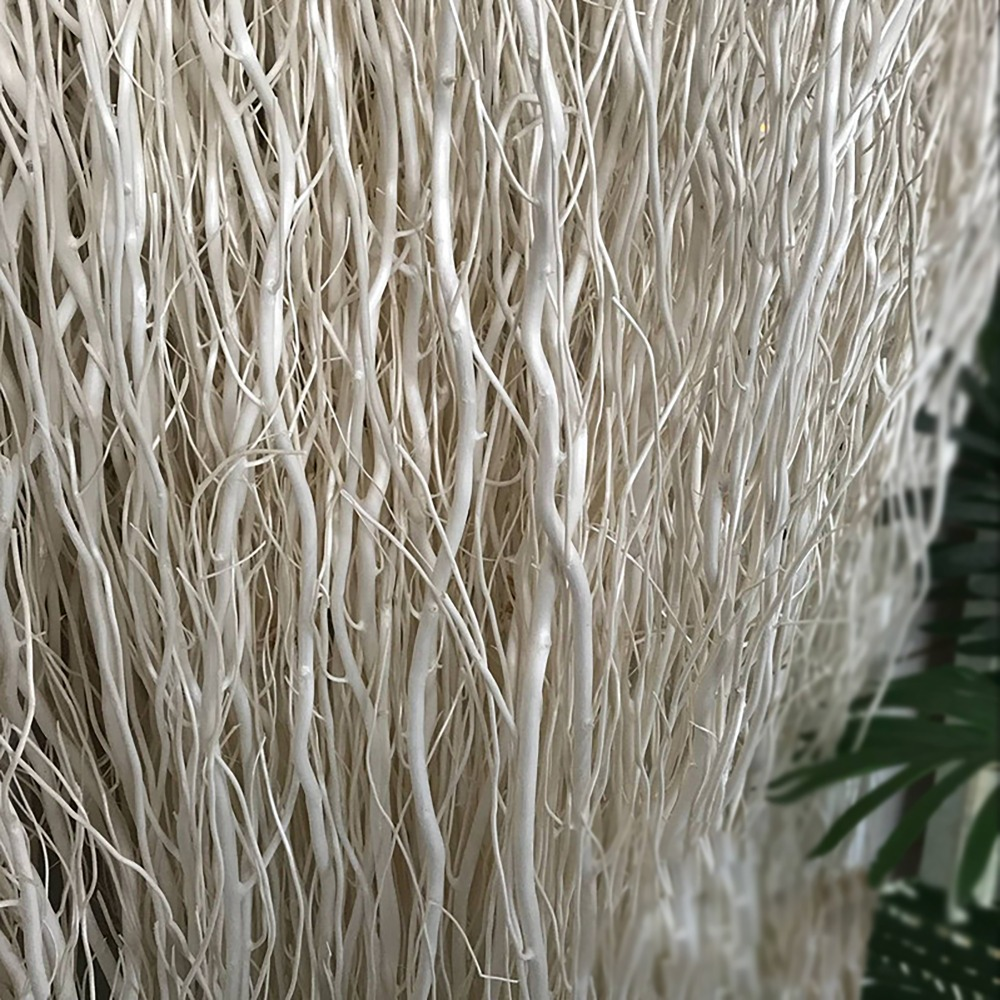 Reptile supplies spider climbing decoration ornaments Natural dry branches Long willow Fake flowers white dried flower partition Pakistan