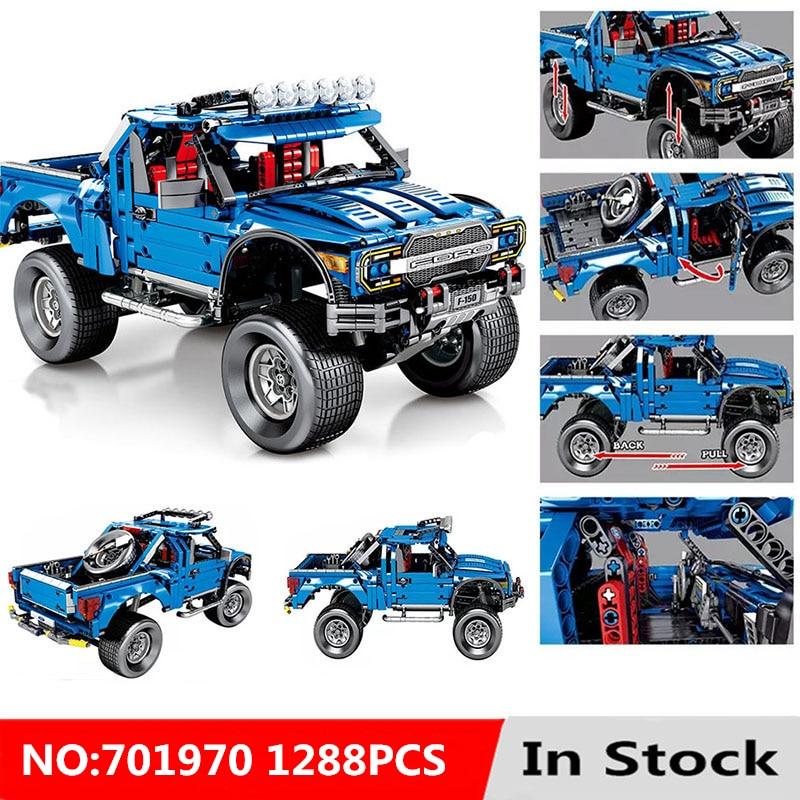 Technic Series 701970 le F-150 Raptor pick-up modèle blocs de construction Set jouets classiques pour les enfants
