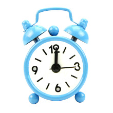 Fashion New Home Outdoor Portable Lovely Cute Cartoon Dial Number Round Desk Alarm Mini Clock