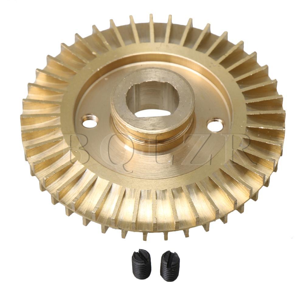 Home Bqlzr Doppelseitige Doppel Flache Wasserpumpe Laufrad Ersatz Teile 70mm Dia Messing Dauerhafter Service