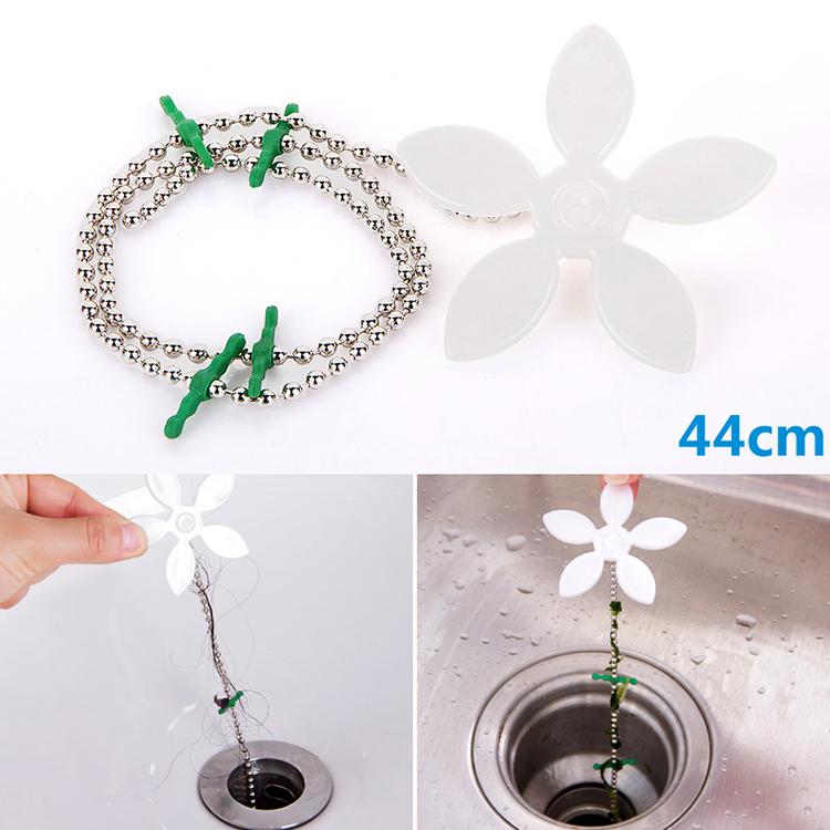bathroom hair sewer filter drain outlet kitchen sink filter strainer drain cleaners anti clogging floor wig removal clog tools - Kitchen Sink Tools
