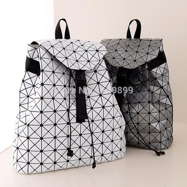 9893dd82ffe3 2015 Women Bao Bao Issey Miyake Backpacks Geometric Foldable Triangle bag