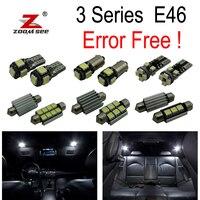 18pcs LED Bulb Interior Light Kit for BMW E46 M3 318i 318ti 323i 323is 325i 325xi 328i 330i 330xi 325ci 323ci 328ci 330ci 99 05