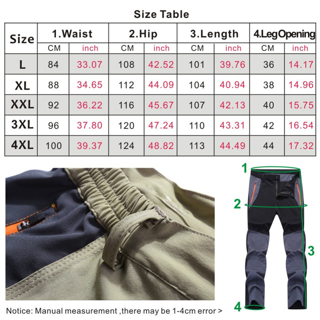 Facecozy Men Summer Breathable Quick Dry Outdoor Sport Pants Elastic Thin Anti-UV Trousers Spring Male Hiking Fishing Long Pants 5