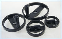 Machine Lathe Milling Open Type Tailstock Handwheel Foldable Handle 100 125 160 200