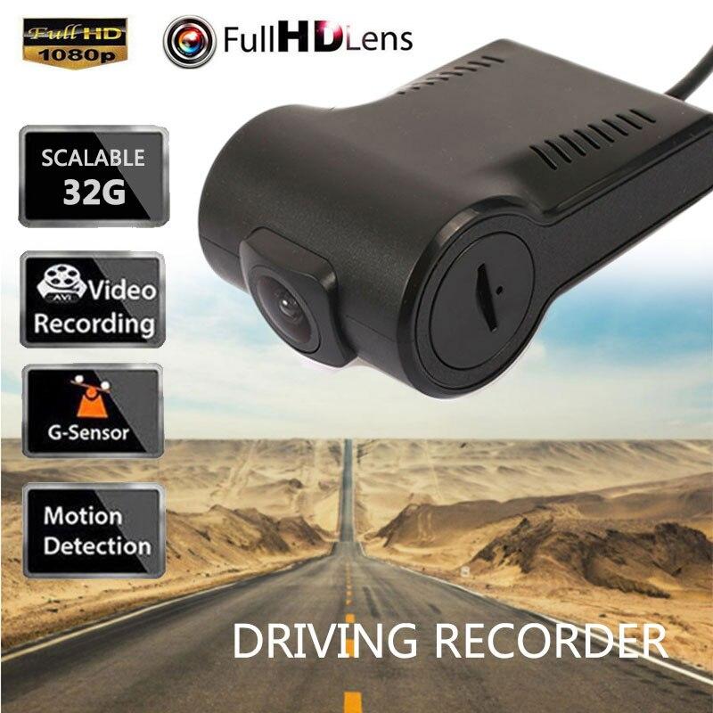 2018 Mini Macchina Fotografica Dell'automobile DVR Dashcam Professionale HD 1080 p Video Recorder Registrator Registratore Del Veicolo USB DVR Della Macchina Fotografica del Precipitare Cam