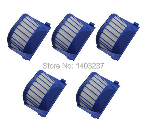 5 x Aero Vac Filter for iRobot Roomba 500 600 Series 536 550 551 620 650 Vacuum Cleaner Accessory битоков арт блок z 551