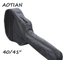 AOTIAN 2017 New 40″ 41″ Acoustic Guitar single  Straps Padded Guitar Soft Case Gig Bag Backpack High Quality