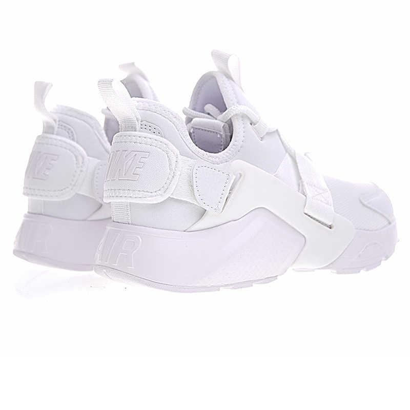 c44cce2b02 White; Original Nike AIR HUARACHE CITY LOW Women's Running Shoes Sneakers. White ...