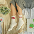 Hot Sale Spring Autumn Warm Soft Women's Socks Casual Striped Cotton Socks Calcetines Ankle Socks