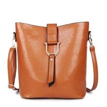Bucket Women Composite Bag 2PCS/Set Designer Handbags High Quality PU Leather Shoulder Crossbody Bags For Women Famous Brand