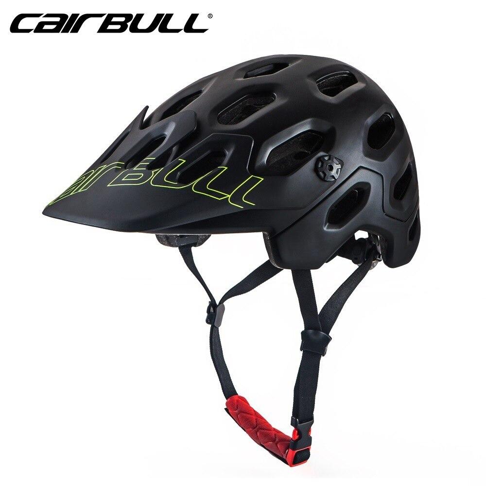 CAIRBULL 2018 горный велосипедный шлем MTB вниз холм велосипедный шлем сверхлегкий Женский Мужской в молд велосипедный шлем Защитная крышка M/L Раз