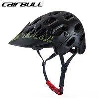 CAIRBULL 2018 Mountain Cycling Helmet MTB Down Hill Bicycle Helmet Ultralight Women Men In mold Bike Helmet Safety Cap M/L Size