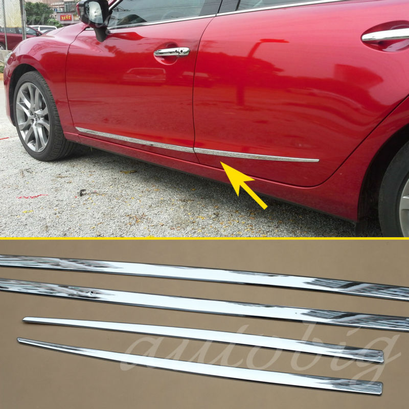 Mazda 6 2014 For Sale: Chrome Styling Door Body Side Frame Trim Cover FOR Mazda6