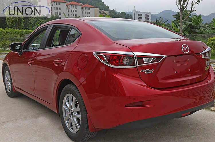 Tail lamp retrofit Angke Sierra special after the big shade decorative frame 2014-2016 For Mazda 3 axela Angkesaila