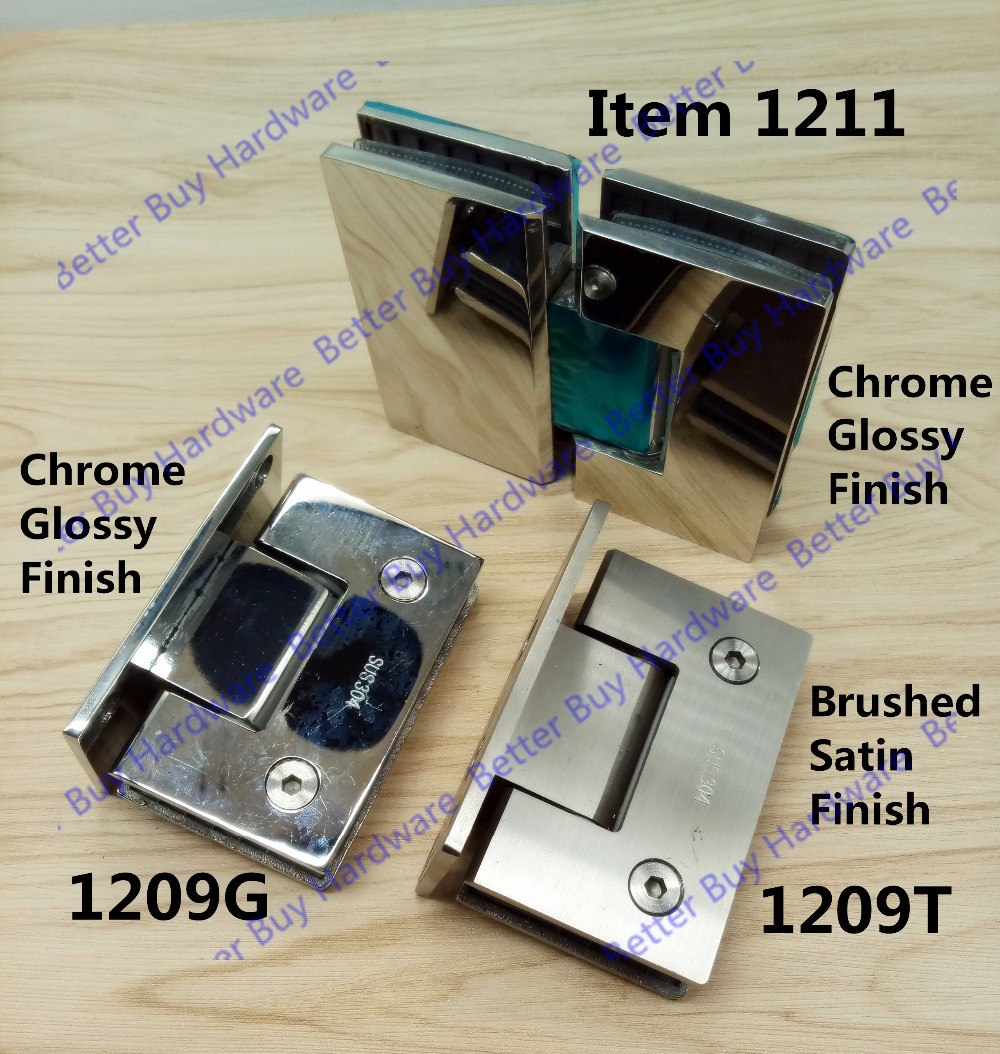 High Quality 90/180 Degrees open Stainless Steel 304 Wall Mount Glass Shower Door Hinge цена