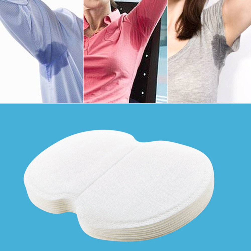 10PCS Disposable Absorption Underarm Sweat Fragrance Wicking Pad Sweat Deodorant Antiperspirant Sweat Pad Deodorant Underarm