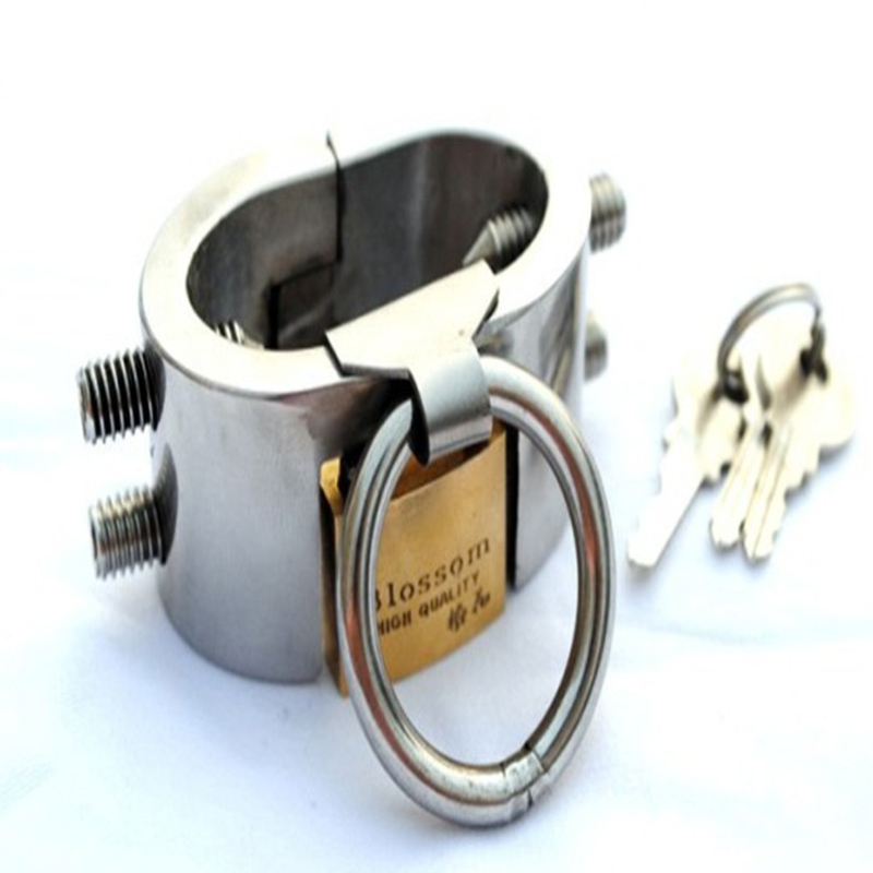 male chastity device scrotum bondage cock ring stainless steel sex toys for men chastity device scrotum stretcher