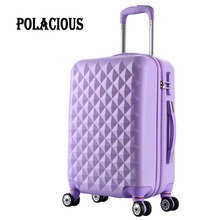 20″24″28″inch High quality Trolley suitcase luggage traveller case box Pull Rod trunk rolling spinner wheels ABS+PC boarding bag