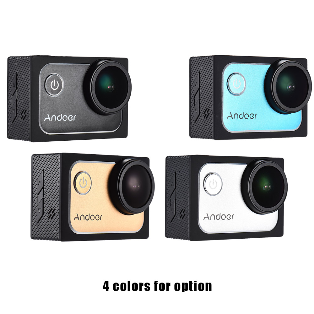 Andoer 4k 1080p Action Camera Full Hd Dv 16m 20in Ltps Lcd Screen 0in Ultrahd Kamera Wifi Wide Angle Outdoor Camcorder Digital Cam Video In Sports From