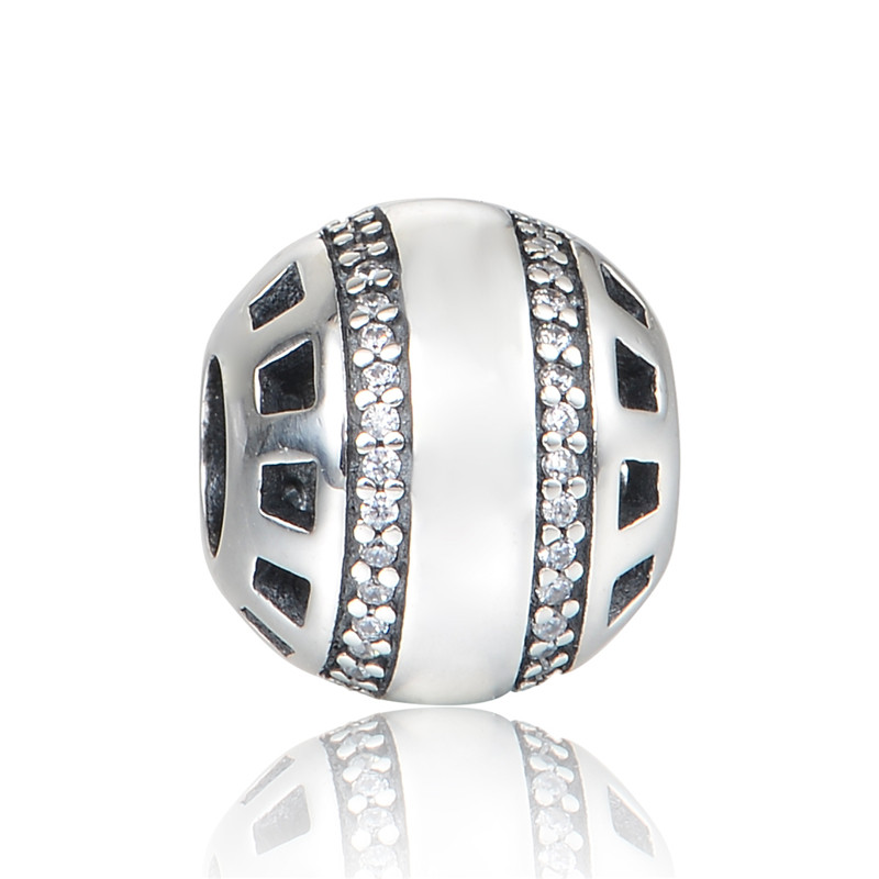 New 925 Sterling Silver Brand Forever Charm Fornituras De Plata Silver Al Mayor Jewelry Suitable for Pandora Charm Bracelets