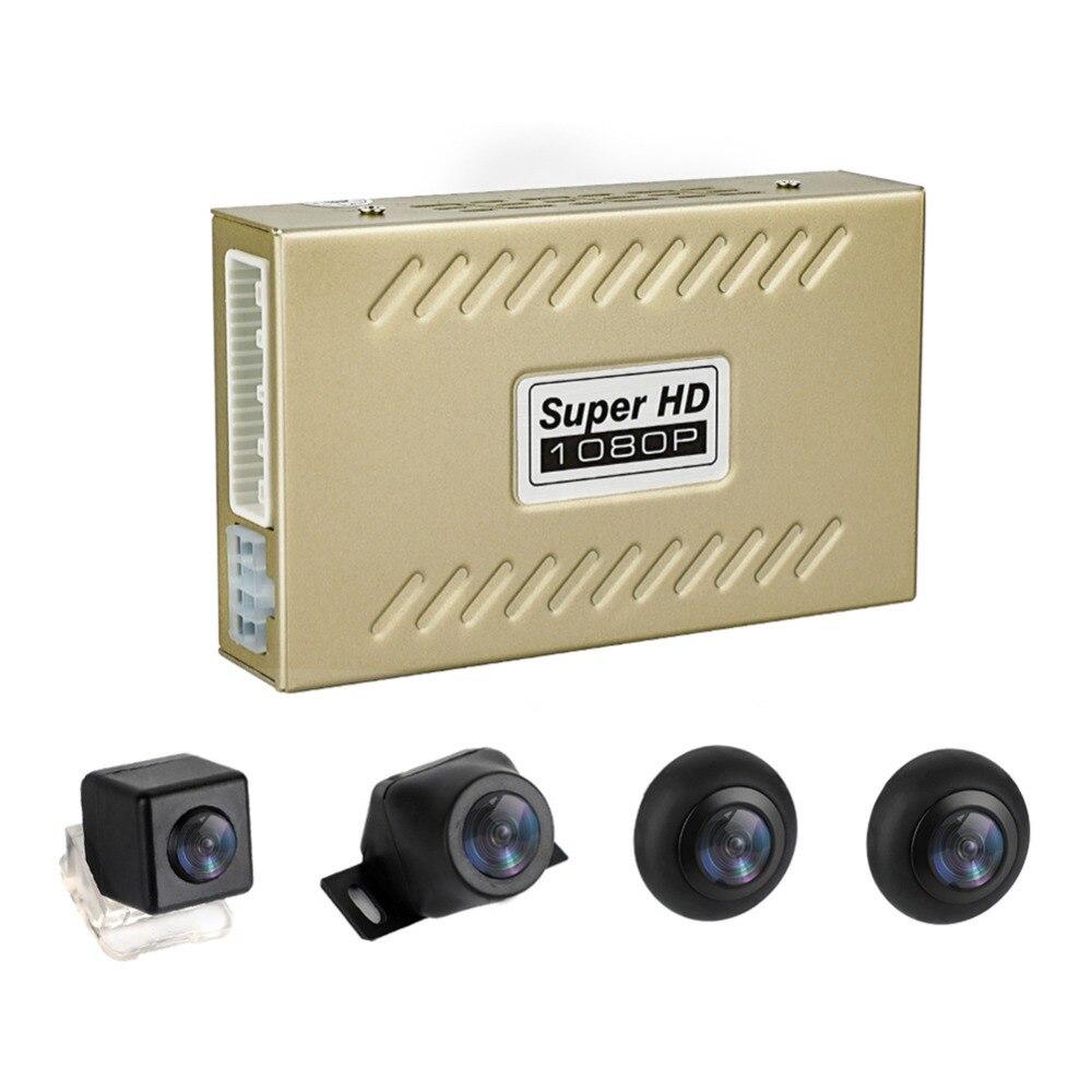 Car-Dvr Recording Rear-View-Camera-System Surround Bird-View 360-Degree No Universal
