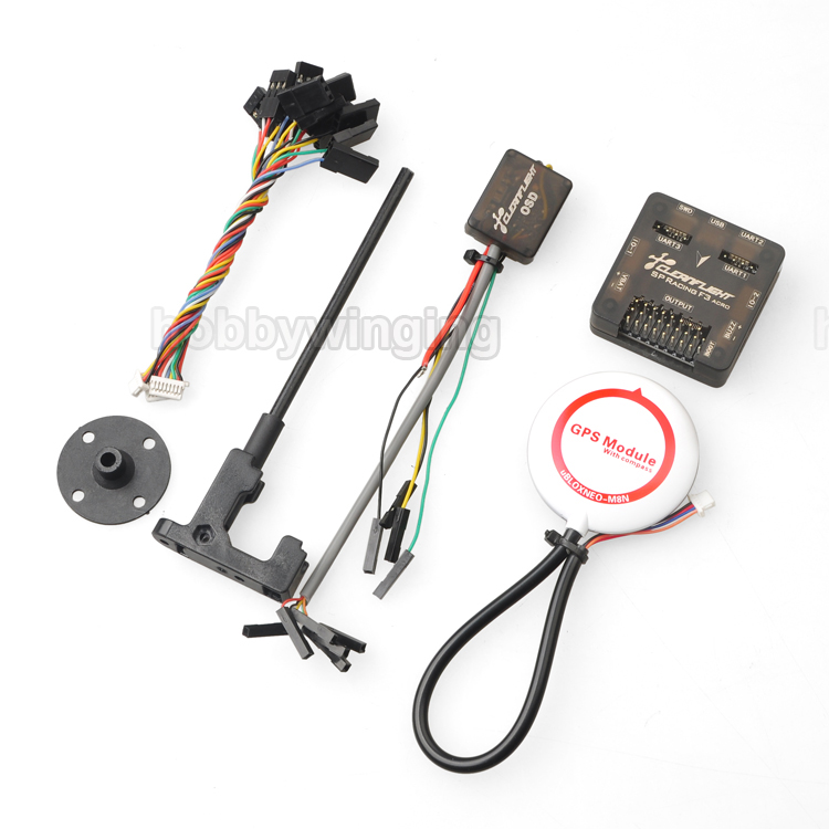купить SP Racing F3 Flight Controller with M8N GPS & CF OSD for FPV Multicopter QAV250