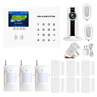 Home Anti Burglar Security GSM Alarm System IOS Android App Control Autodial Home Security Alarm System