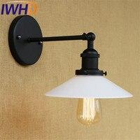 Luminárias de Parede Arandela Edison Loft Estilo Industrial Do Vintage Abajur De Vidro da Lâmpada LEVOU Para Casa Iluminação Lampara Pared