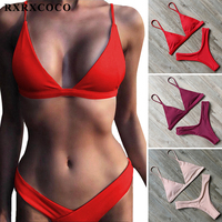 MOOSKINI 2017 Hot Sexy Brazilian Bikinis Women Swimsuits Top Bandage Bathing Suit Push Up Swimwear Bikini