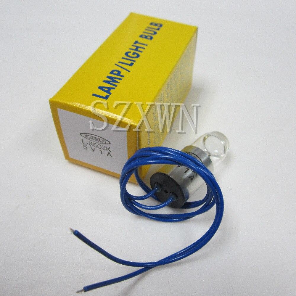 Hosobuchi l8503k 5v1a biochemical analyzer medical equipment light bulb camera glue lamp cold light lamp