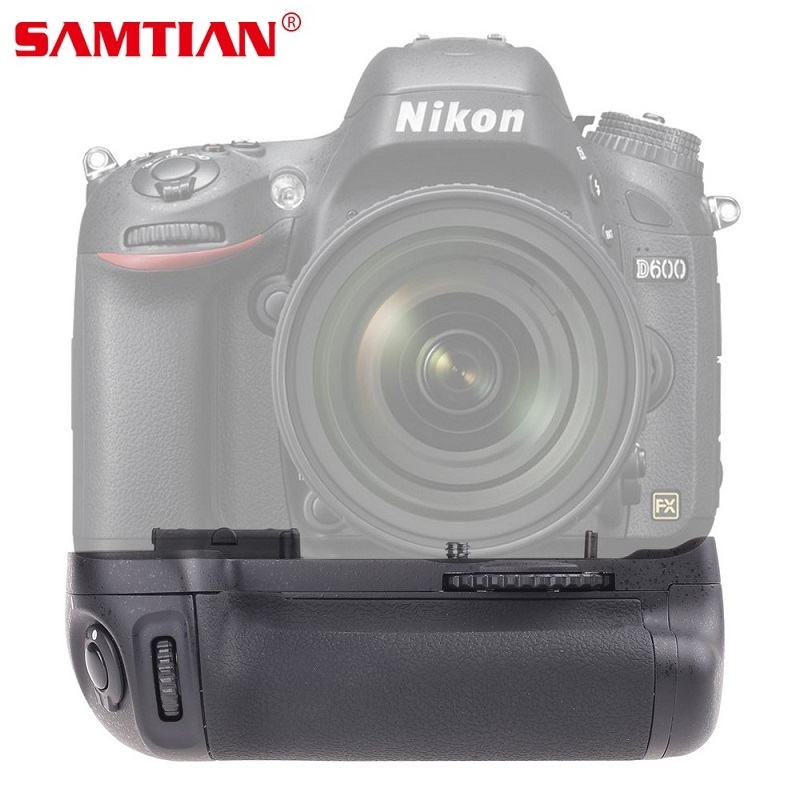 SAMTIAN Vertical Battery Grip Holder Replace MB-D14 For NIKON D600 DSLR Camera Battery Handle Work with EN-EL15 Battery travor vertical battery grip holder for nikon d850 mb d18 dslr camera battery handle work with en el15 battery