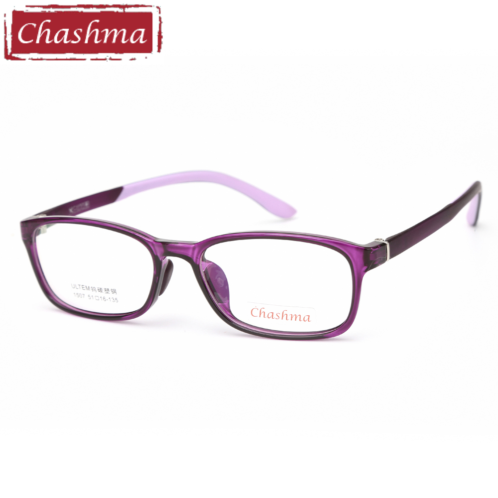 Chashma Brand Quality Eye Glasses Students Glasses Kids Fashion Design Men Fashion Optical Glasses With Clear Lenses Women