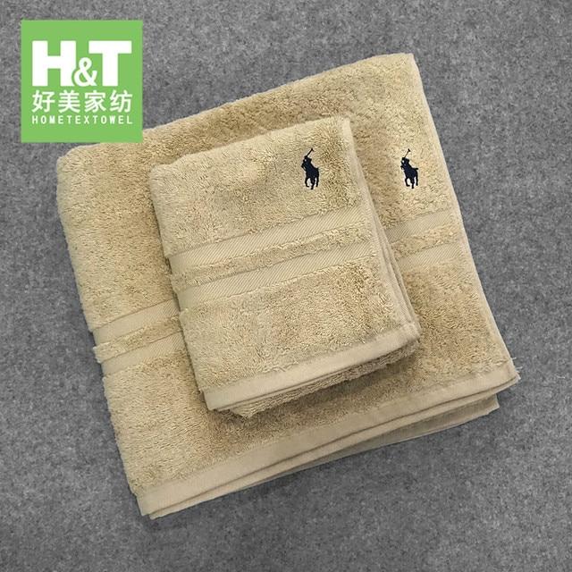 100% cotone asciugamano di spessore telo da bagno di colore solido dei capelli f