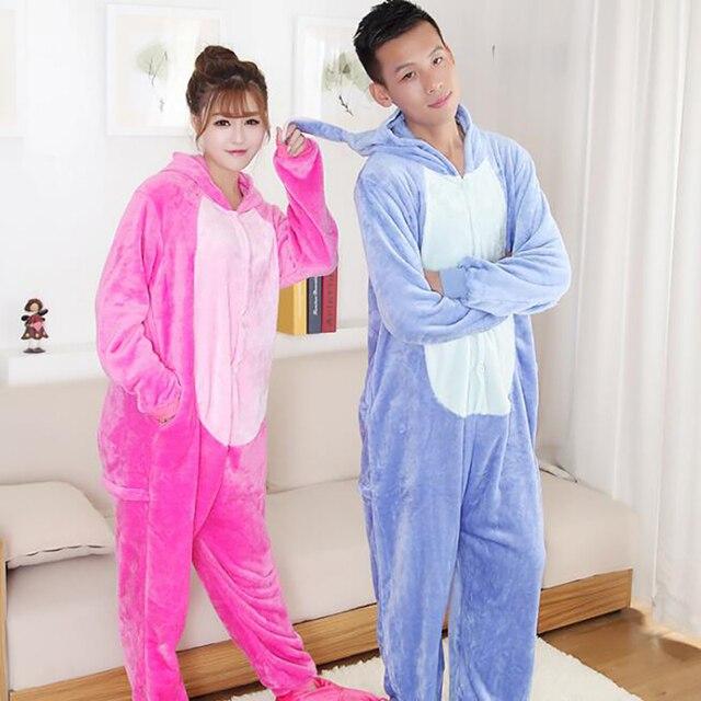 8be4f9ade9 2019 nueva moda de carácter de las mujeres pijamas para mujeres de manga  completa con capucha
