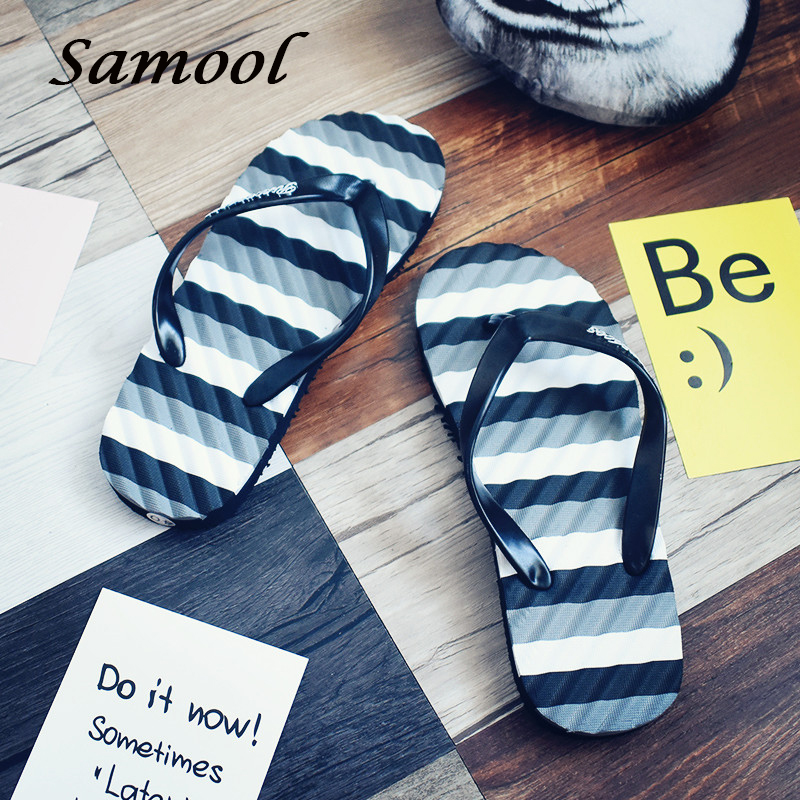 Летние Для мужчин вьетнамки пляжные сандалии для Для мужчин без каблука Шлёпанцы для женщин Нескользящие массажные Сандалии для девочек ...